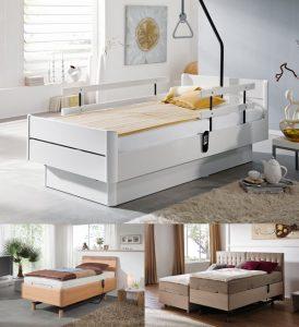 Altersgerechtes Schlafen in Ihrem neuen Pflegebett